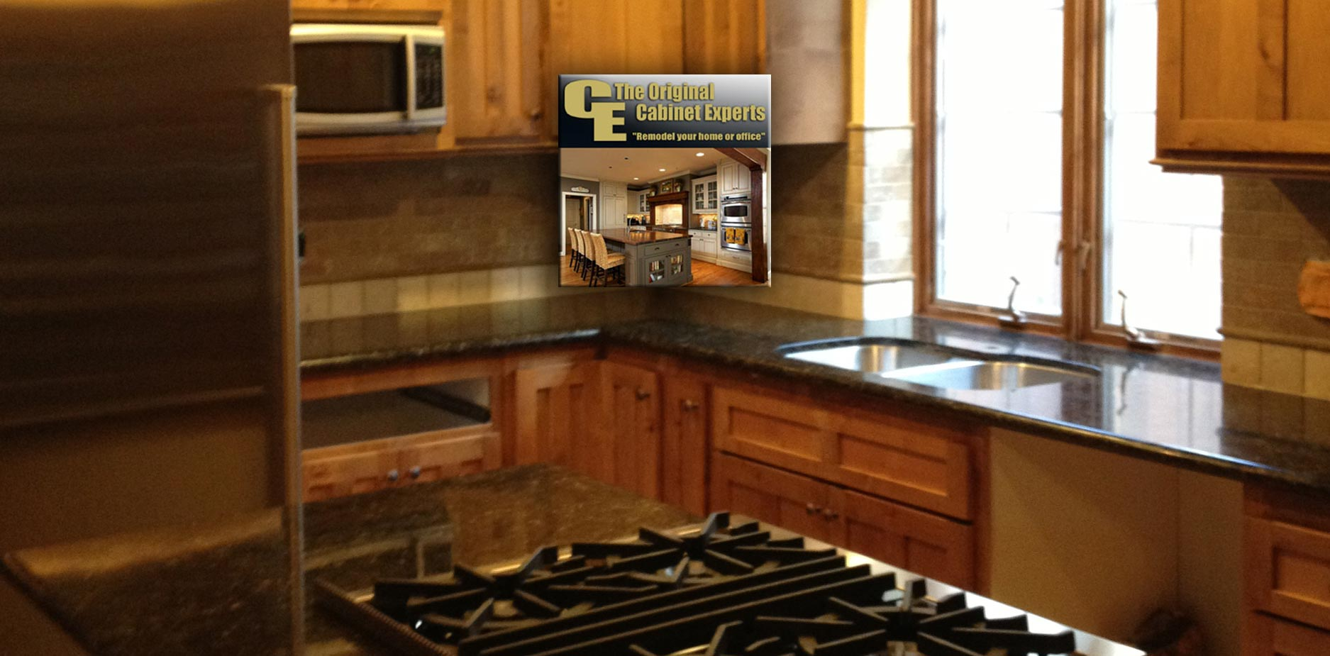 Cabinet refacing and replacement